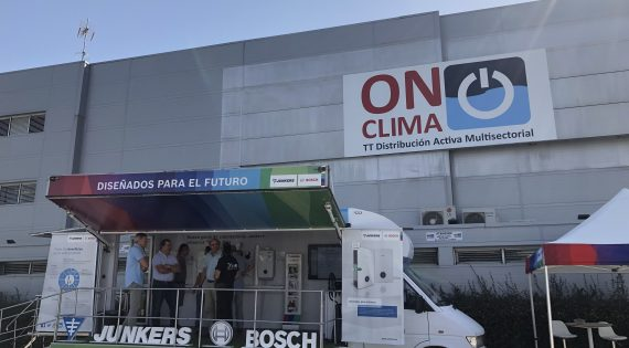 SHOWROOM DE JUNKERS EN ON CLIMA