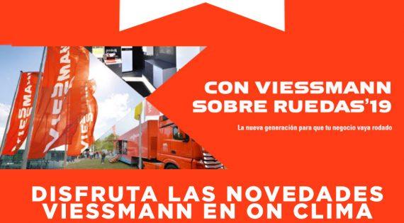 VIESMANN SOBRE RUEDAS VISITA ON CLIMA EL 15 DE NOVIEMBRE