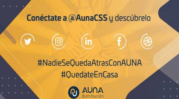 #NadieSeQuedaAtrasConAuna